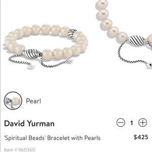 DAVID YURMAN Spiritual Beads w Pearls